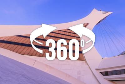 Montreal's Olympic Stadium 360 Virtual Pano