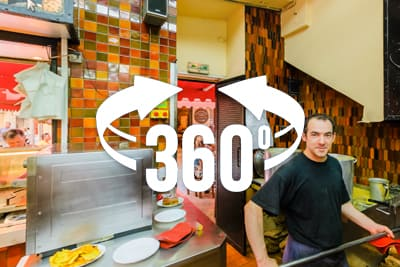 Rene Socca Restaurant 360 Panorama
