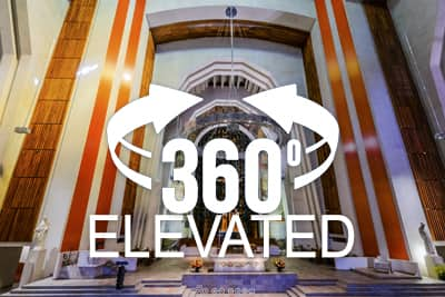 Elevated 360 pano of Montreal's St Joseph Oratory
