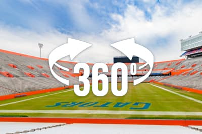 University of Florida - Florida Field Swap 360 Panorama Tour