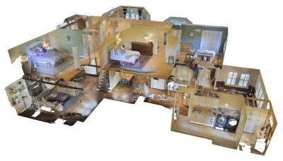 Matterport dollhouse view - 3d tour provider
