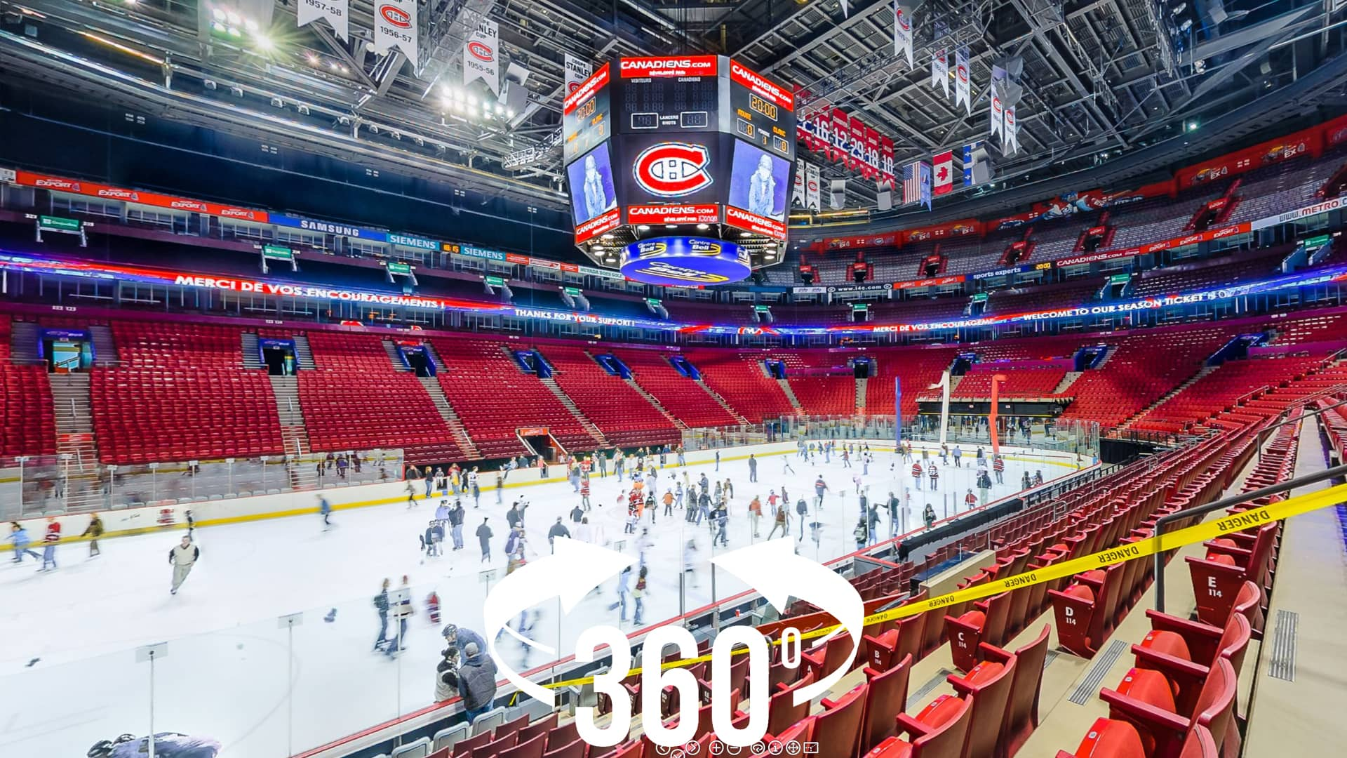 check out ac240 97b22 360 panorama: Bell Centre (Montreal Canadiens)