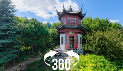 Elevated 360: Montreal Botanical Garden, China Garden