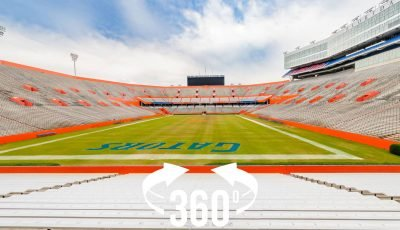 360 panorama: Florida Field (Ben Hill Griffin Stadium)